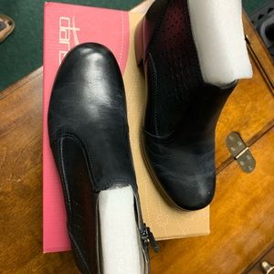 Dansko Liberty Napa Black Boot Size 5.5 NWT